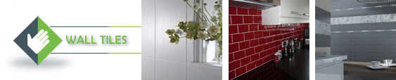 Wall tiles available in a variety of shapes, styles and colours